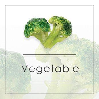 Vegetables ⇒ ⇒ ⇒