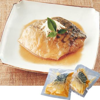 Simmered Mackerel in Miso Sauce (Deboned) (New)