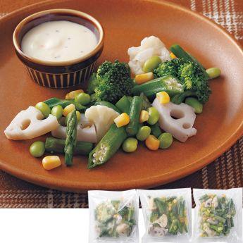 レンジで手軽に!8種類のオーガニック温野菜