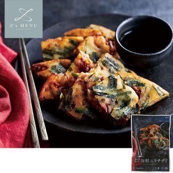 釜山で食べた海鮮ニラチヂミ